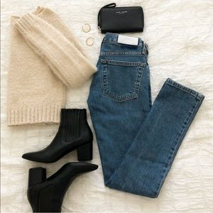 RE/DONE Low Rise Skinny Jeans